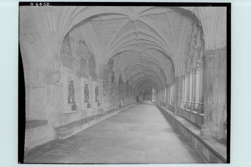 West Cloister,Westminster Abbey.