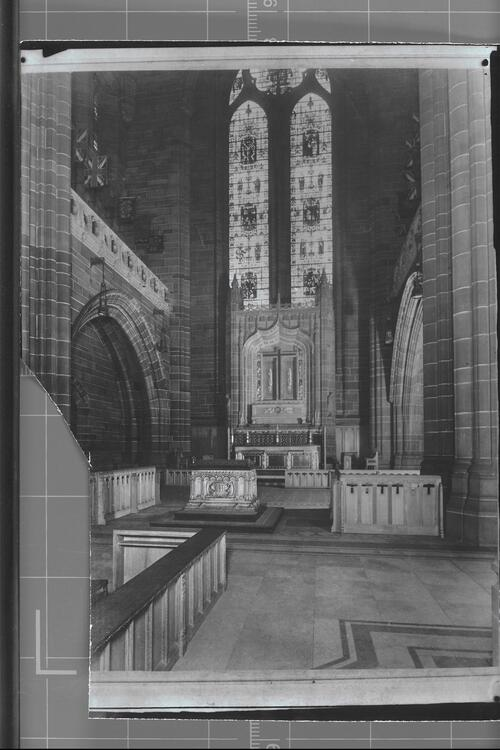 War Altar, Liverpool Cathedral.
