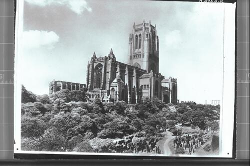 Liverpool Cathedral from S.E.