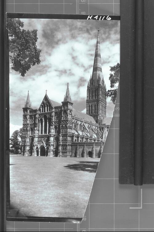 Salisbury Cathedral From S. W.