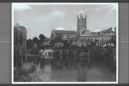 Worcester Cathedral & Severn.