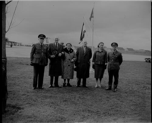 Veterans at RAF Leuchars.
