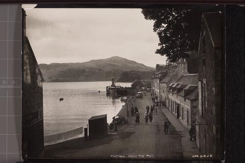 Portree from the Pier.