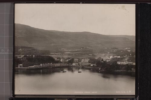Portree from West.