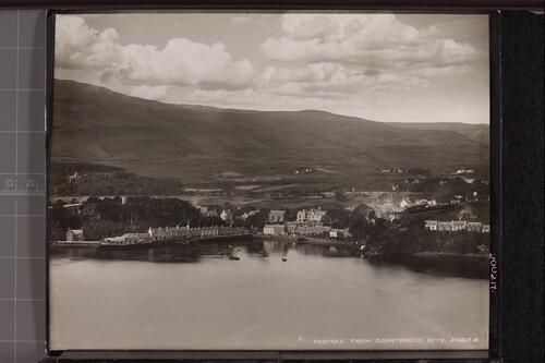 Portree from Scorybreck, Skye.