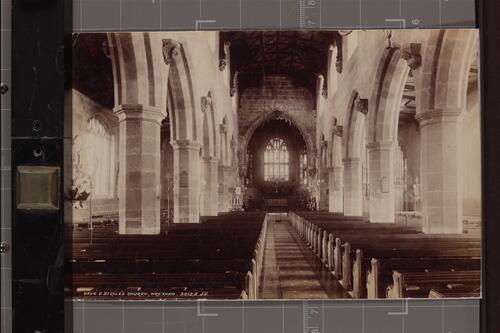 Nave, St Giles Church, Wrexham.