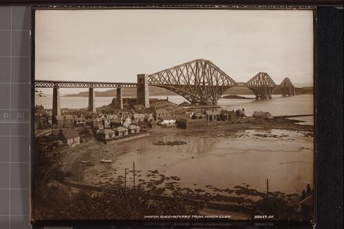 North Queensferry from North Cliff.