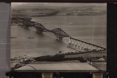 Forth Bridge from the Air.