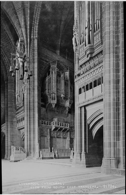 Liverpool Cathedral, view from the South East Transept.