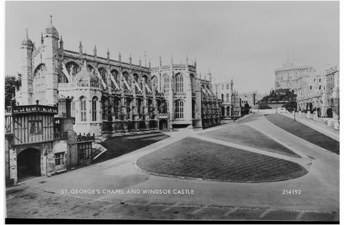 St George's Chapel and Windsor Castle.