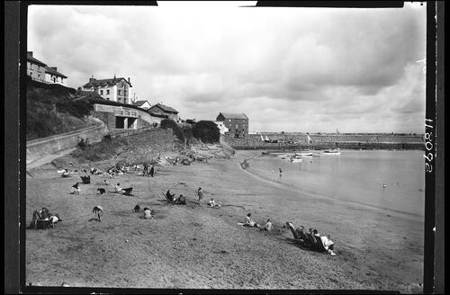 The Beach, New Quay.