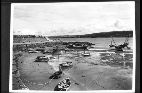 Harbour at Low Tide, New Quay.