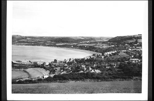 New Quay from Pen-Graig.