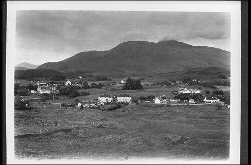 Taynuilt, Argyll, from South.