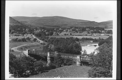 Spey Bridge and Kingussie.