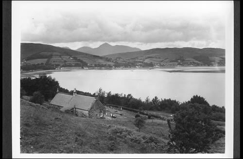 Lamlash and Goatfell in Distnace.