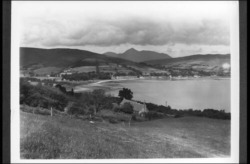 Lamlash Bay and Goatfell.