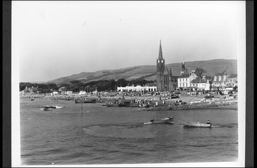 Largs from the Pier.