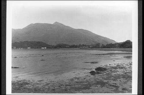 Airds Bay and Ben Cruachan, Taynuilt, Argyll.