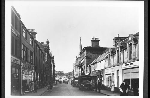 Bridge Street looking South, Wick.