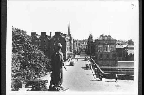 Bridge Street from War Memorial, Wick.