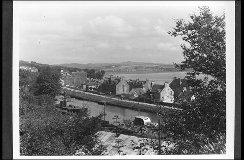 Ardrishaig, Loch Fyne, showing Lochgilphead in background.
