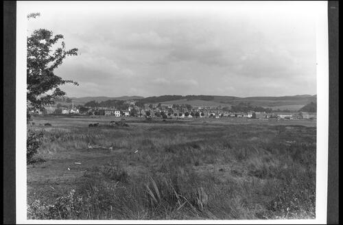 Lochgilphead from the Ardrishaig Road.