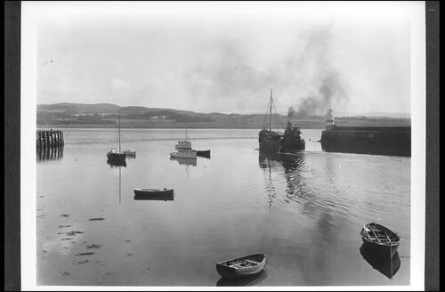 Ardrishaig Harbour, Loch Fyne, from entrance to Crinan Canal.