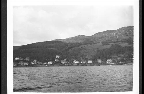 Tighnabruaich, Kyles of Bute, from Water.