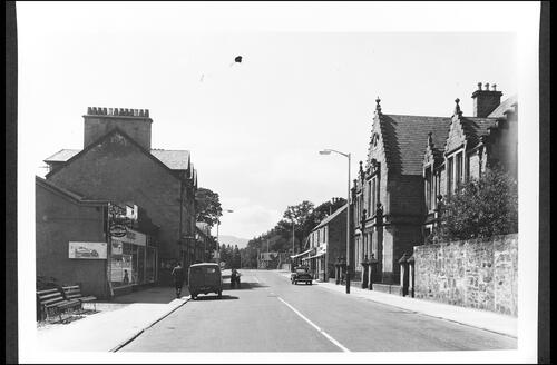 High Street, Kingussie.