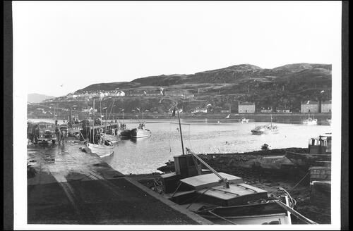 Mallaig Bay and Khyber from Harbour.