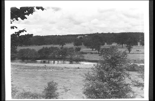 River Irvine, Golf Course and Louden Castle, Galston.