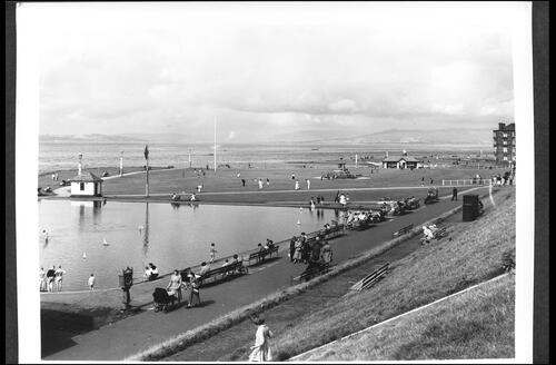 Model Yacht Pond and Putting Green, Largs.
