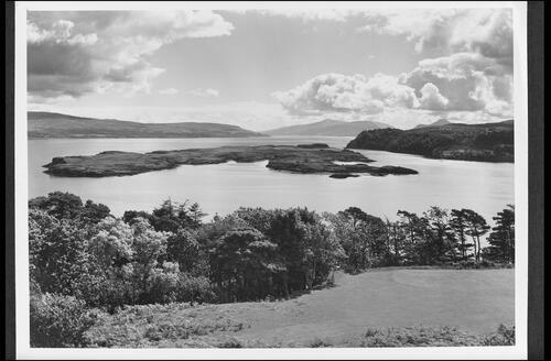 Sound of Mull from the Golf Course, Tobermory, Isle of Mull.