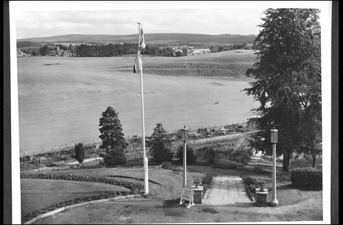 The Golf Course from Cluny Hill Hotel, Forres.
