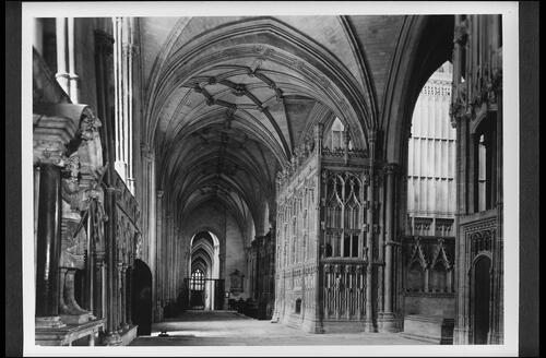 S Aisle, Winchester Cathedral.