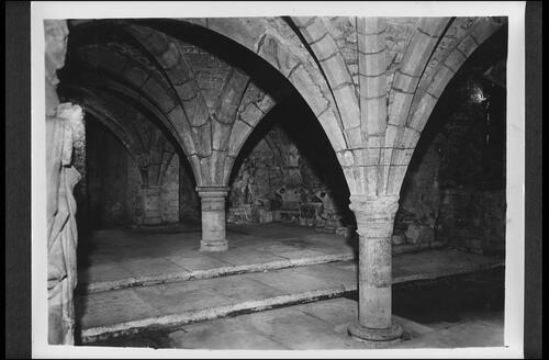 The Crypt, Winchester Cathedral.