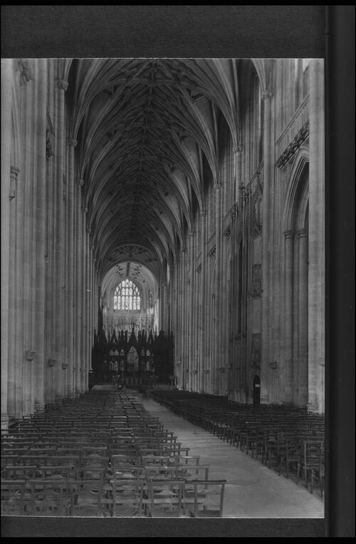 The Nave, Winchester Cathedral.