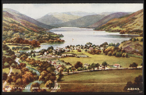 St Fillans and Loch Earn.