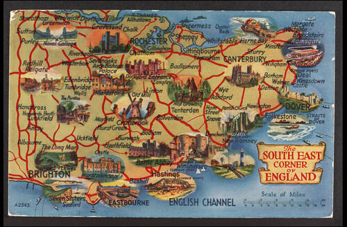 The South East corner of England.