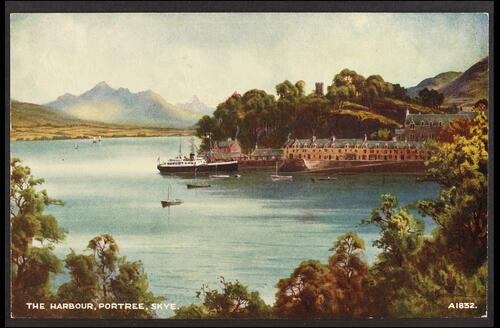 The Harbour, Portree, Skye.