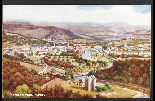 Peebles from the West.