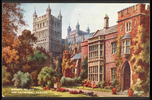 Bishop's Palace and Cathedral, Exeter.
