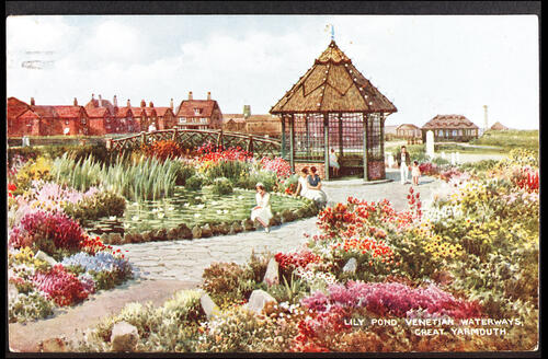 Lily Pond, Venetian Waterways, Great Yarmouth.