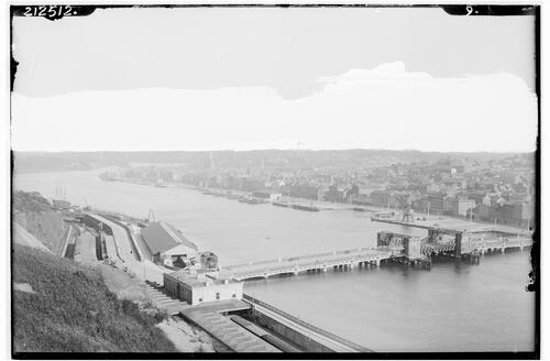 Waterford and the Bridge.