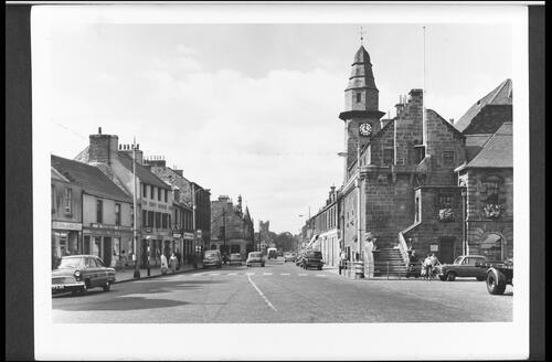 High Street and Town House, Musselburgh.