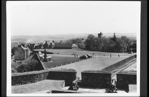 The Esplanade, Stirling Castle.