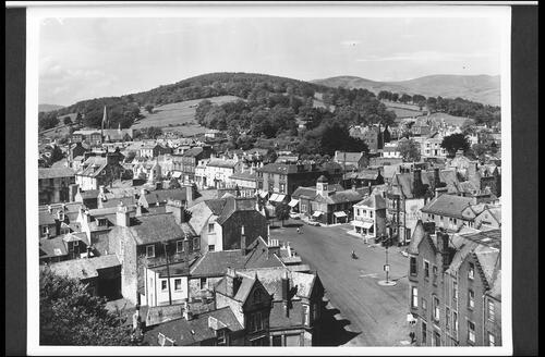 Moffat from the Church Tower.