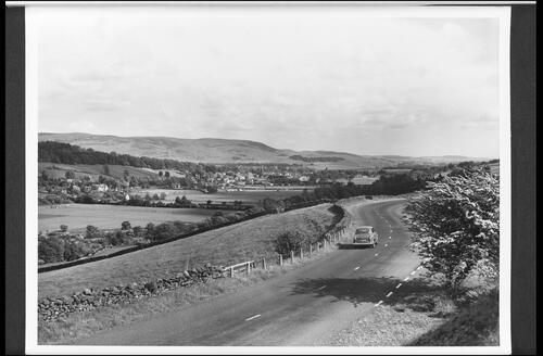 Moffat from the Edinbugh Road.