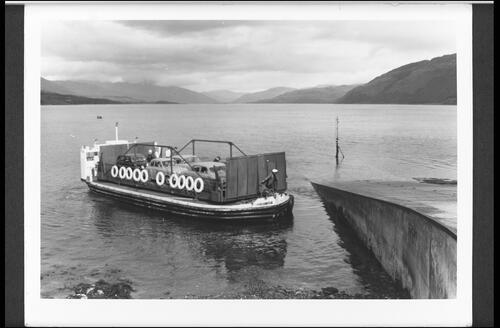 Strome Ferry and Loch Carron.